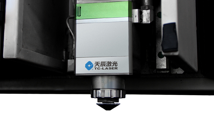 Raytools laser cutting head of the fiber laser cutter