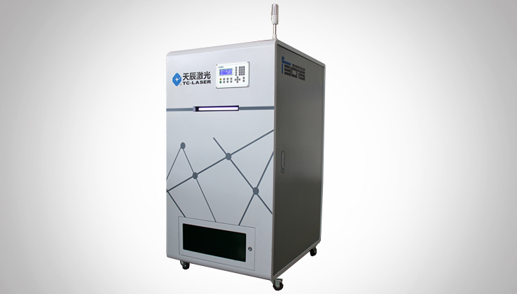 Stand-alone electric control cabinet of the fiber laser cutter