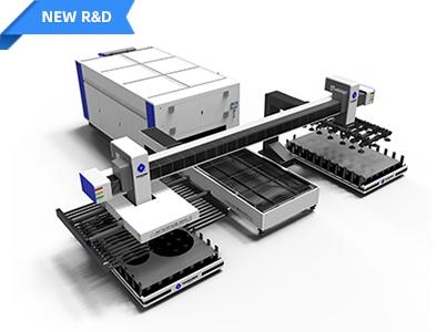 Trussed Loading and Unloading Fiber Laser Cutting Machine TC-P3015BA
