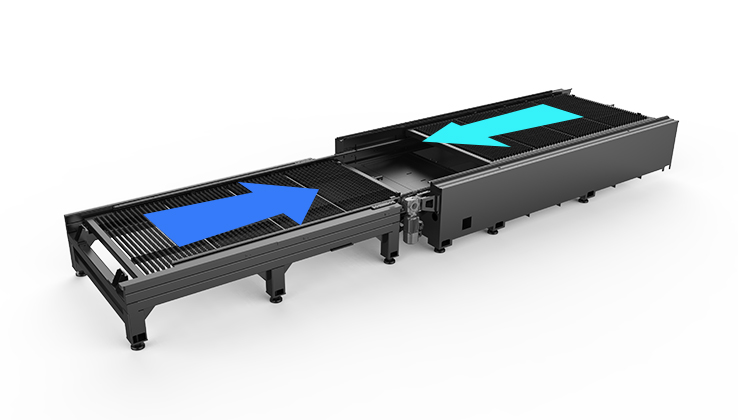 Dual platform exchange, higher processing efficiency