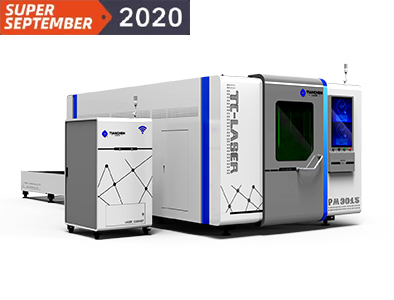 Marvel series - Dual platform full protection fiber laser cutting machine TC-PM3015