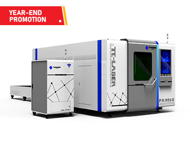 Marvel series - Dual platform full protection fiber laser cutting machine TC-PM3015