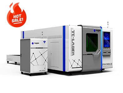 Dual platform full protection fiber laser cutting machine TC-PM3015