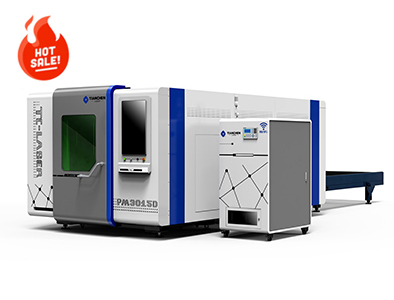 Dual platform full protection fiber laser cutting machine TC-PM3015D