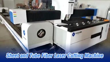 Sheet and Tube Fiber Laser Cutting Machine