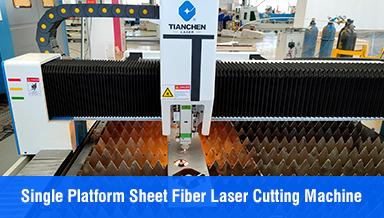 Single platform sheet fiber laser cutting machine TC-FM3015
