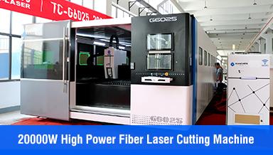 TC 20000W high-power large-format fiber laser metal cutting machine